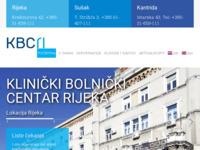 Slika naslovnice sjedišta: Klinički bolnički centar Rijeka (http://www.kbc-rijeka.hr)