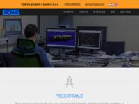 Slika naslovnice sjedišta: Elektro projekti i sustavi d.o.o. (http://www.eps.hr/)