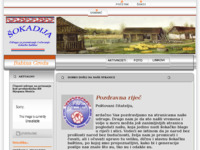 Frontpage screenshot for site: Šokadija, Babina Greda (http://www.inet.hr/~mpetride/index.html)