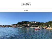 Frontpage screenshot for site: Apartmani u villi Trlika, 50m od mora, Kampor (http://www.villa-trlika.com)