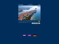 Frontpage screenshot for site: Apartmani Mazuth, otok Rab (http://free-zg.htnet.hr/apartmani_mazuth/)