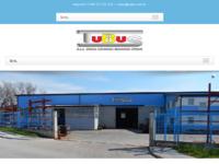Frontpage screenshot for site: Tubus - obrt za obradu i montažu cijevi, Galižana (http://www.tubus.com.hr)