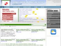 Slika naslovnice sjedišta: Tržišni informacijski sustav u poljoprivredi (http://www.tisup.mps.hr)