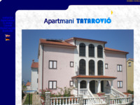 Frontpage screenshot for site: Apartmani Tatarović (http://www.apartmani-croatia.com)