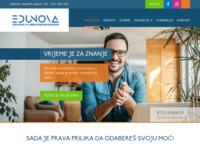 Slika naslovnice sjedišta: Edunova - Škola Informatike i managementa (http://www.edunova.hr)