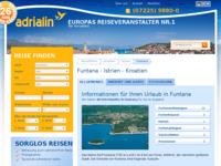 Slika naslovnice sjedišta: Funtana (http://www.kroatien-adrialin.de/ortsinfos/funtana/)