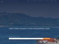 Frontpage screenshot for site: J.E.M. Trade - Turistička agencija (http://www.croatia-istria.com)