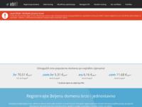 Slika naslovnice sjedišta: infoNET projekt (http://www.infonet.hr)