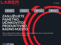 Slika naslovnice sjedišta: Laser d.o.o. (http://www.laser.hr)