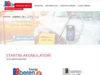 Frontpage screenshot for site: Beren d.o.o. (http://www.beren.hr/)
