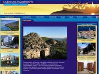 Frontpage screenshot for site: Dubrovnik Investicije - Dalmacija nekretnine (http://www.investicije.com.hr/)