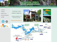 Frontpage screenshot for site: Privatni smještaj Korenica (http://plitvice.free.fr)