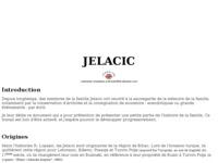 Frontpage screenshot for site: Jelačić (http://www.croatianhistory.net/etf/jelacic.htm)