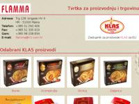 Slika naslovnice sjedišta: Flamma d.o.o. - Rijeka (http://www.flamma.hr/)
