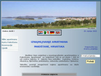 Slika naslovnice sjedišta: Apatmani Pakoštane (http://free-vz.htnet.hr/zeb/)