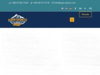 Frontpage screenshot for site: Kupa sports (http://www.kupa-sports.com)