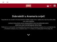 Frontpage screenshot for site: Fotokopiraona Anamaria (http://www.anamaria.hr/)
