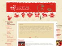 Frontpage screenshot for site: Licitar - Croat's warm heart (http://www.licitar.hr/)