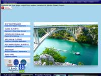 Frontpage screenshot for site: Dubina d.o.o.  Split (http://www.dubina.hr/)