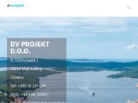 Slika naslovnice sjedišta: DV Pojekt d.o.o. Mali Lošinj, projektno poduzeće (http://www.dvprojekt.hr)