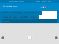 Frontpage screenshot for site: Zagrebačka naklada (http://www.zg-naklada.hr)