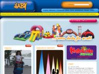 Slika naslovnice sjedišta: Haby d.o.o. (http://www.haby.hr)