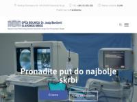 Slika naslovnice sjedišta: Opća bolnica Dr. J. Benčević Slavonski Brod (http://www.bolnicasb.hr/)