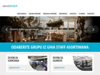 Frontpage screenshot for site: (http://www.ghiastaff.hr/)