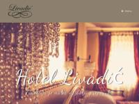 Frontpage screenshot for site: Hotel Livadić, Samobor (http://www.hotel-livadic.hr/)