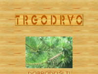 Frontpage screenshot for site: Trgodrvo d.o.o. (http://www.inet.hr/~trgodrvo)