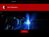 Frontpage screenshot for site: TKT Toplota (http://www.tkt-toplota.hr)