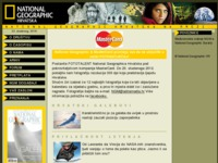 Frontpage screenshot for site: (http://www.nationalgeographic.com.hr/)