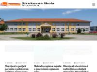 Slika naslovnice sjedišta: Strukovna škola Virovitica (http://www.ssv.hr/)
