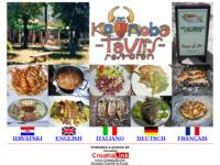 Frontpage screenshot for site: Restoran konoba Tauris Šipan (http://www.sipan.info)