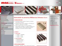 Frontpage screenshot for site: Maservice - Vrbovec d.o.o. (http://www.maservice-vrbovec.hr/)