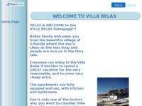 Frontpage screenshot for site: Villa Belas (http://villabelas.itgo.com)