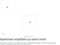 Frontpage screenshot for site: Apartmani Preka (http://www.rab-preka.com)