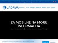 Slika naslovnice sjedišta: Jadrija d.o.o. Zagreb (http://www.jadrija.hr/)