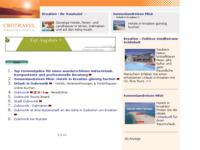 Frontpage screenshot for site: Dubrovnik - turistički vodič (http://www.kroatien-links.de/reiseziele-dubrovnik.htm)