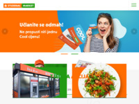 Slika naslovnice sjedišta: Trgovački lanac Studenac d.o.o. Omiš (http://www.studenac.hr/)