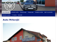 Slika naslovnice sjedišta: Auto Mrkonjić (http://www.auto-mrkonjic.com)