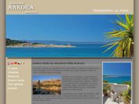 Frontpage screenshot for site: Apartmani Ankora (http://www.ankora-makarska.com)