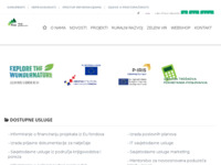 Slika naslovnice sjedišta: Poduzetnički inkubator za Gorski kotar (http://www.pins-skrad.hr/)