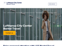 Frontpage screenshot for site: Bantel travel d.o.o. (http://www.lcc-banteltravel.com.hr)