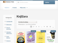 Frontpage screenshot for site: Veble commerce (http://www.veble.hr/)