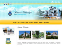 Frontpage screenshot for site: Pension Klaudija - Crikvenica (http://www.pension-klaudija.com)