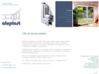 Slika naslovnice sjedišta: Aluplast d.o.o. (http://www.aluplast.hr/)