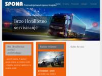 Slika naslovnice sjedišta: Spona servis (http://www.spona-servis.hr/)