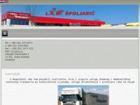Slika naslovnice sjedišta: Ulsuge domaćeg i međunarodnog transporta (http://www.lkw.hr/)