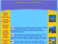 Frontpage screenshot for site: Apartman Lastovo (http://www.inet.hr/~nmoraca)